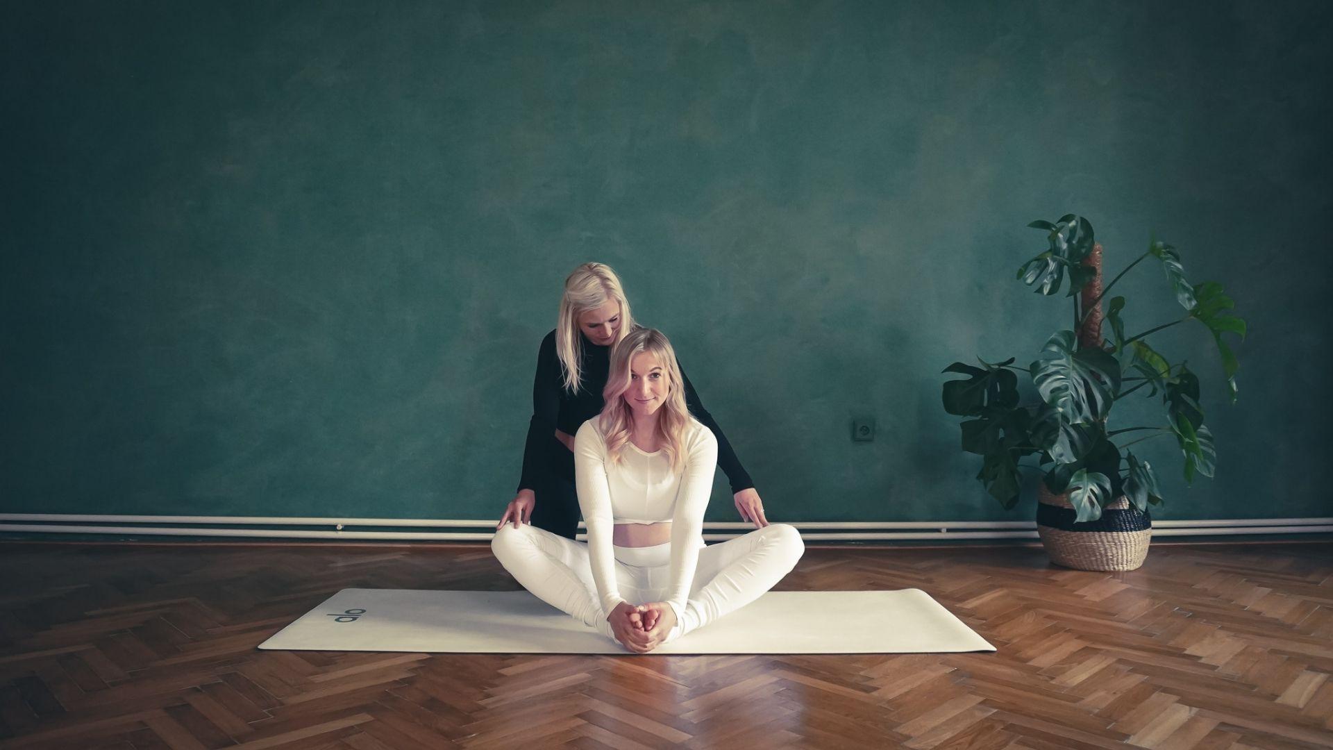 5. Těhotenská yin yoga
